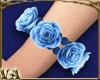 Left Blue Rose Bracelet