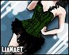 L| Laced Bodice Green