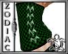 Green Check Corset