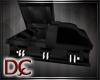 (J) Vampire coffin bed
