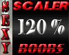 120 % Boob Scaler