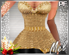 ♬~ Xmas Lady in B&Gold