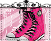 Tartan Kicks- Pink