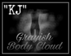 """KJ"" Grayish Body Cloud"