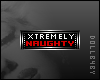 Xtremely Naughty Badge