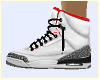 White Jordans