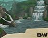 Waterfall Lagoon Island