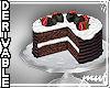 !Cake strawberries DER
