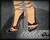 1000K La Noir Lace Heels