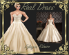 Real Dress Wedd creme