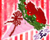 *E* Red Bouquet