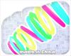 (✘) rainbow Bracelet L