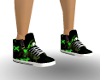Green Toxic Sneakers