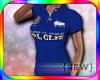 {R} Stud PRL Blue Polo