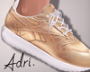 ~A: Gold Sneakers