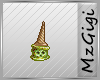 Zombie Ice Cream Badge