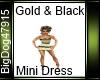 [BD] Gold&Black Dress