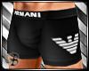 Armani Boxer Black