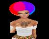 Rainbow Afro~swag