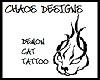Demon Cat Tattoo