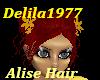 D77-AliseHair-Dk Red