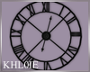 K wall clock blk