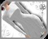 ~AK~ Sweater Dress White