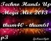 Techno Mega Mix 3/18