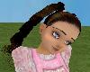 Toddler Brown hair pink
