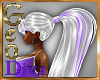 Geo Mel white purple