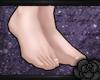 small feet *B*