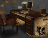 Steampunk Trunk Desk