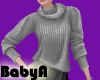 ~BA Gray Sweater
