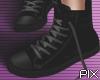 !! Black High shoes