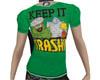 NJ Keep it Trashy Flat T