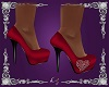 Red Shoe With Heart