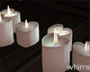 Snowed In Hearts Candles