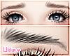 Worried Eyebrows - Black