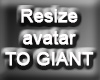 Resize Avatar To GIANT