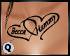 Becca & Hammy Tattoo