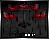 Black & Red Club Table