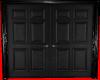 (AL)Black Double Door