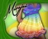 M * Rainbow Dress