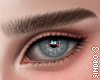 眉毛. Eyebrows Brown.