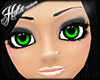 [Hot] Green Gloss Eyes