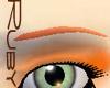tangerine thin brows