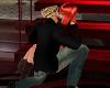 kissing pose