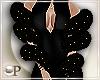 Arms Fur Boa Gold Glitz