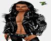 Sexy Black Leather Jacke