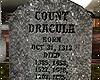 v  Dracula Tombstone